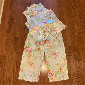 Bloom 2 pc PJ Set Floral Large